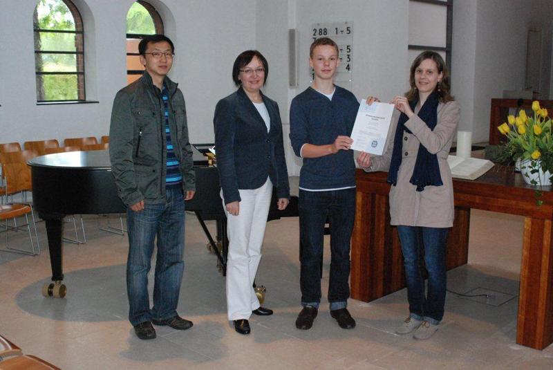 Ausbildung zertifikat Musik Troisdorf